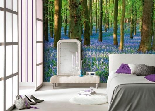 Decoracion de paredes papel pintado barcelona - Fotomurales barcelona ...